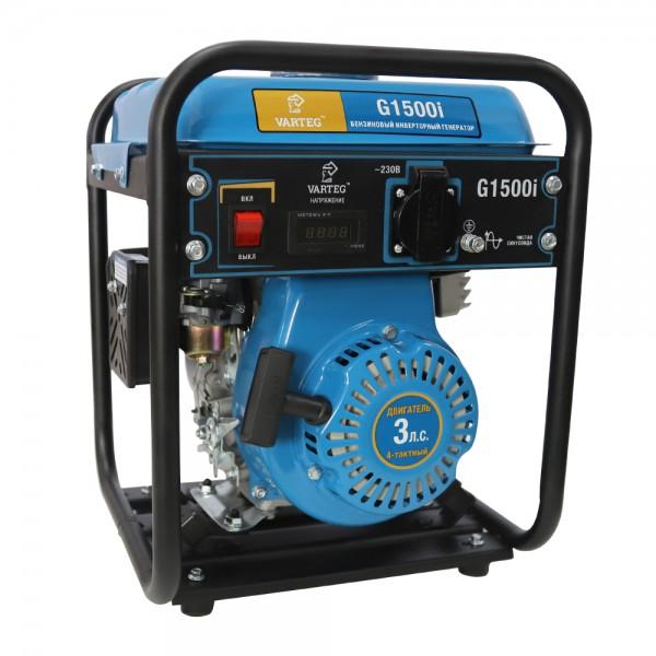 Бензиновый инверторный генератор VARTEG G1500i