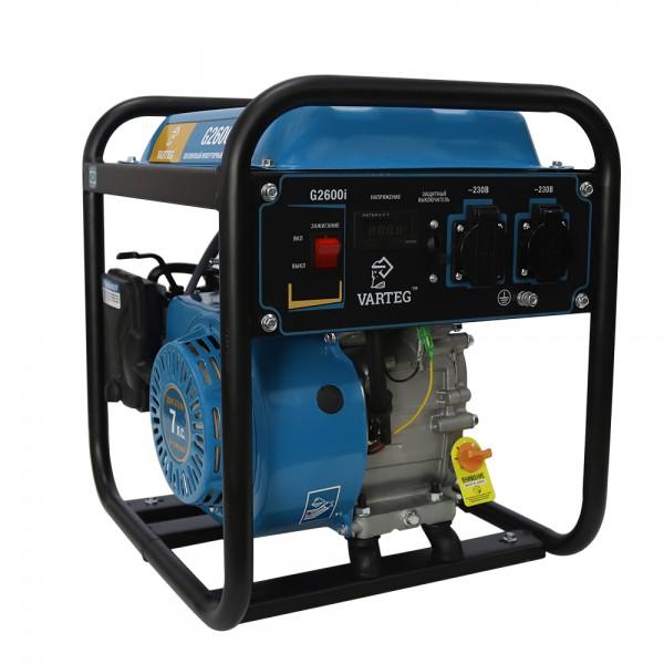 Бензиновый инверторный генератор VARTEG G2600i