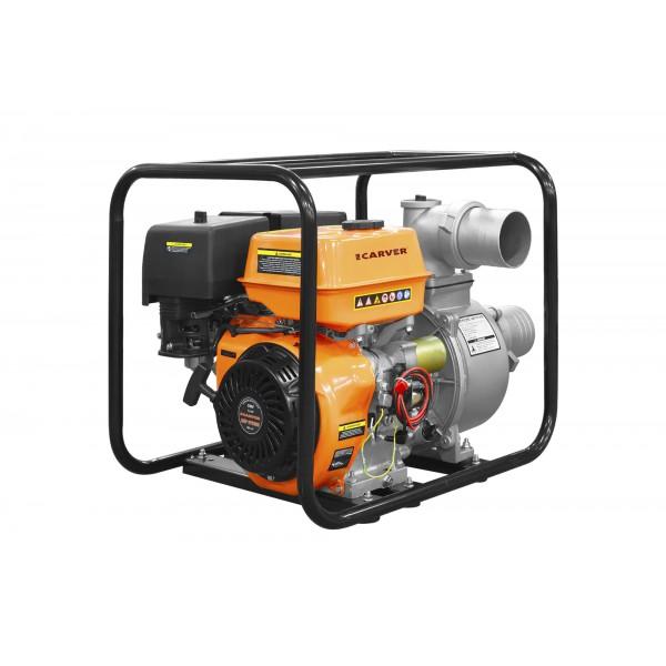 Carver CGP 99100E (Акк. батарея в комплекте) Насос бензиновый для чистой воды