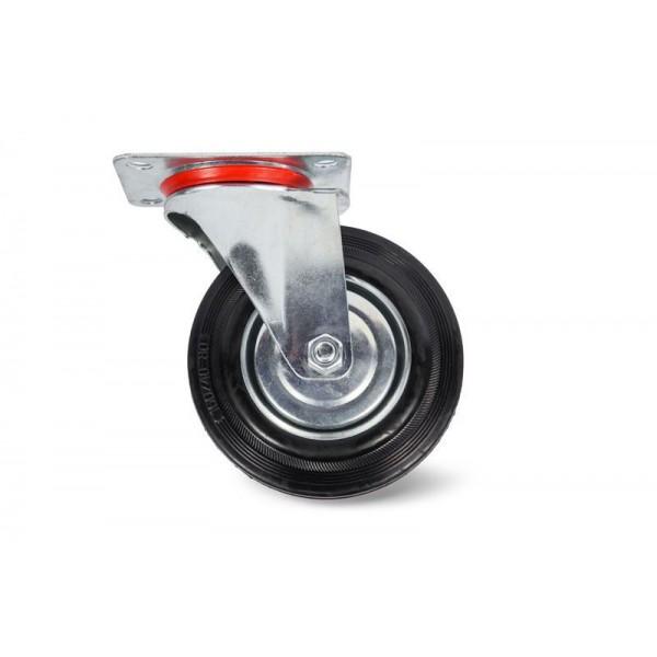 Колесо поворотное резина SC 42 100мм