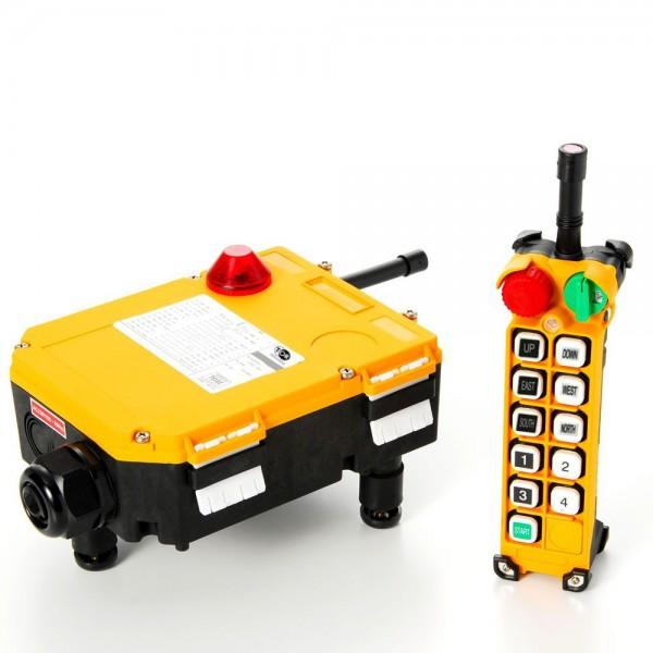 Комплект радиоуправления TOR F24-10S (380 В, 10-кноп)