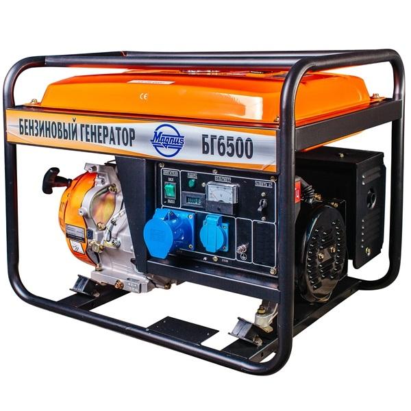 Генератор бензиновый Magnus БГ6500