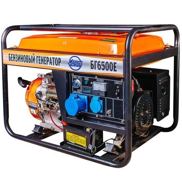 Генератор бензиновый Magnus БГ6500Е