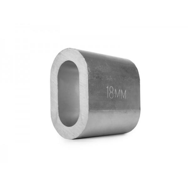 Втулка алюминиевая 18 мм TOR DIN 3093