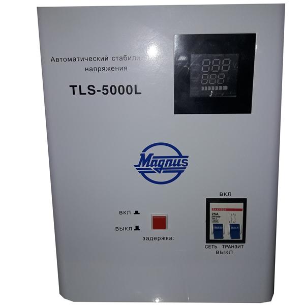 Стабилизатор напряжения автомат. Magnus TLS-5000L от 100В (настенный)