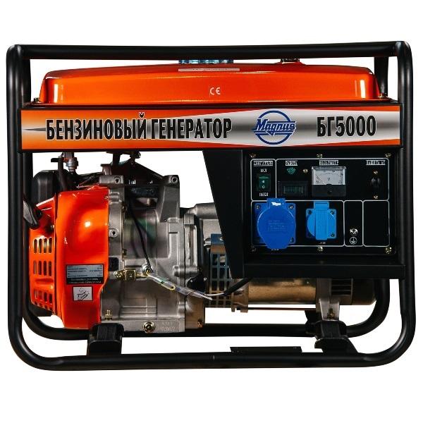 Генератор бензиновый Magnus БГ5000