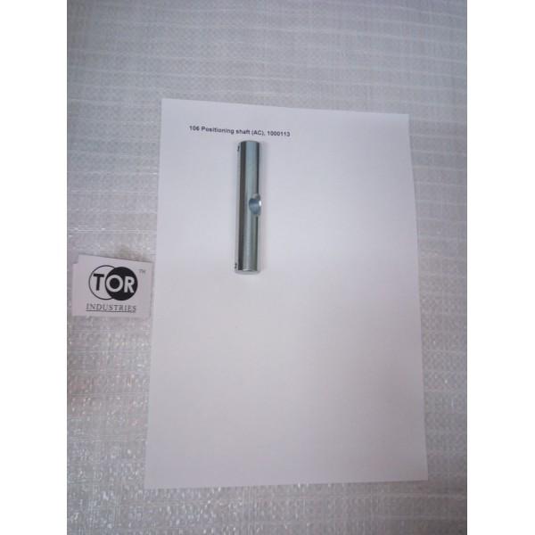 106 Ось рукояти горизонтальное крепление (Positioning shaft) (AC/RHP)