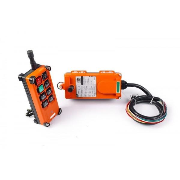 Комплект радиоуправления TOR F24-8D (380 В, 8-кноп, двухскоростной)