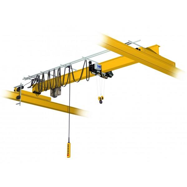Кран мостовой однобалочный опорный однопролётный г/п 1 т пролет 6,0 м