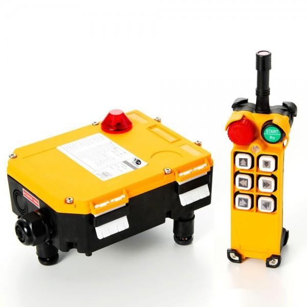 Комплект радиоуправления TOR F24-6D (380 В, 6-кноп , двухскоростной)