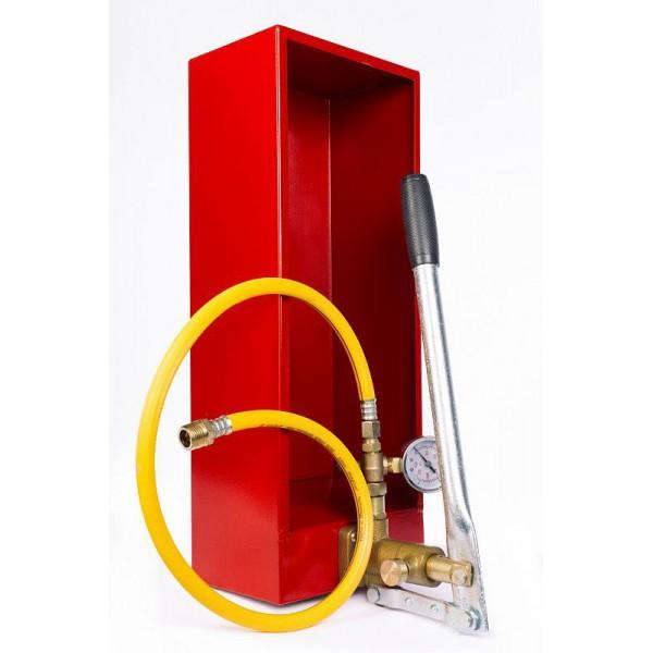 Опрессовочный насос ручной TOR 2,5 л, 2,5 МПА