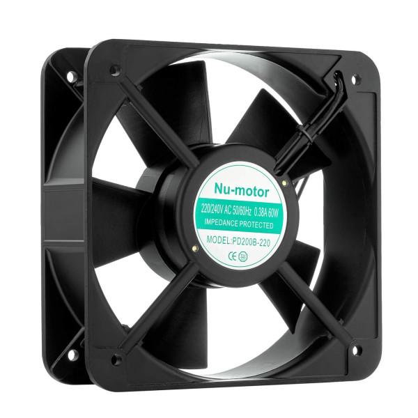 Вентилятор 200х200х60, 220В