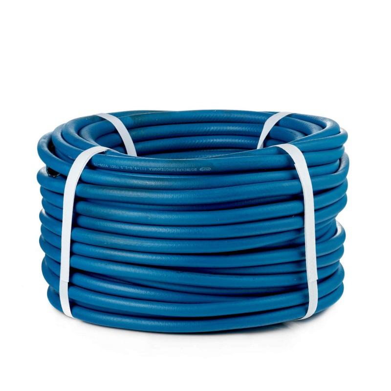 Рукав кислородный, d6,3, синий, бухта 50м