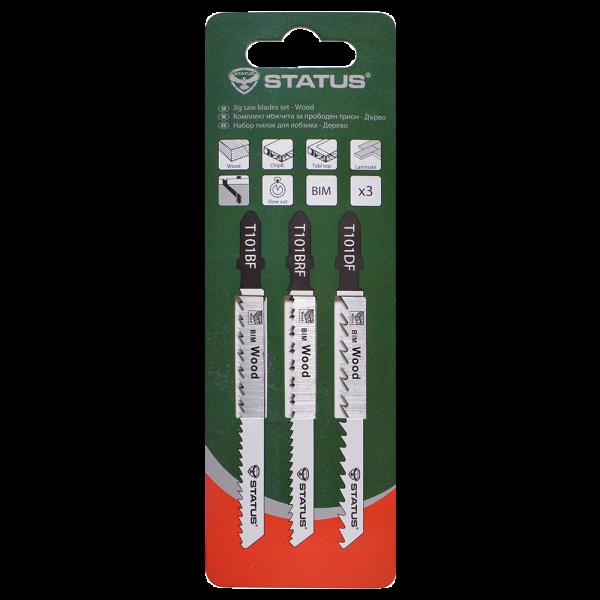 Пилки для лобзика-дерево, 3шт-04810101